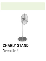 Ventilateur CHARLY Stand